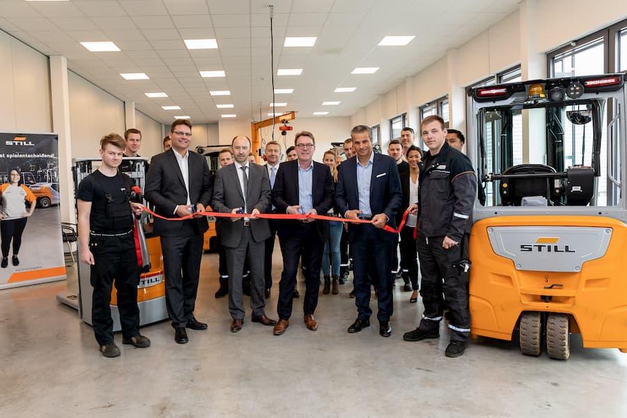 Ausbildungszentrum in Fürth eröffnet © STILL