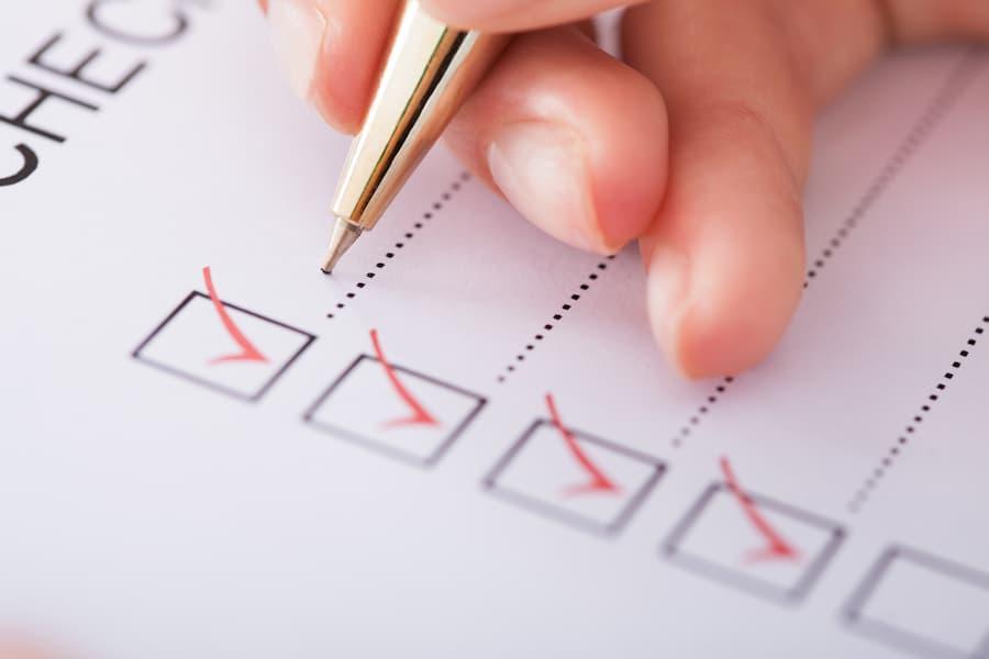 Checkliste © Andrey Popov, stock.adobe.com