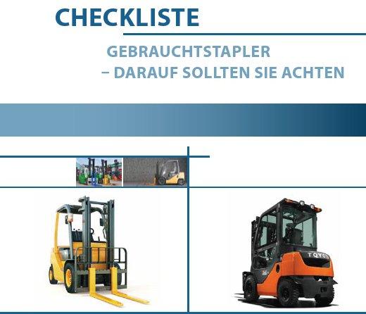 Checkliste Gebrauchtstapler Prüfung