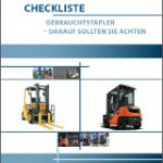 Checkliste Gebrauchtstapler