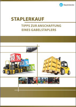 Sieben kostenlose E-Books rund um Gabelstapler und Flurförderzeuge veröffentlicht