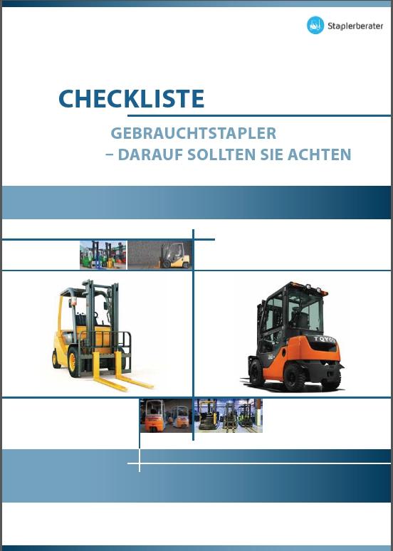 Cover Checkliste Gebrauchtstapler