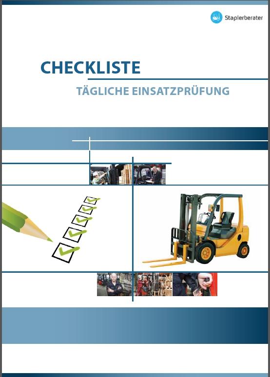 Cover Checkliste Tägliche Einsatzprüfung