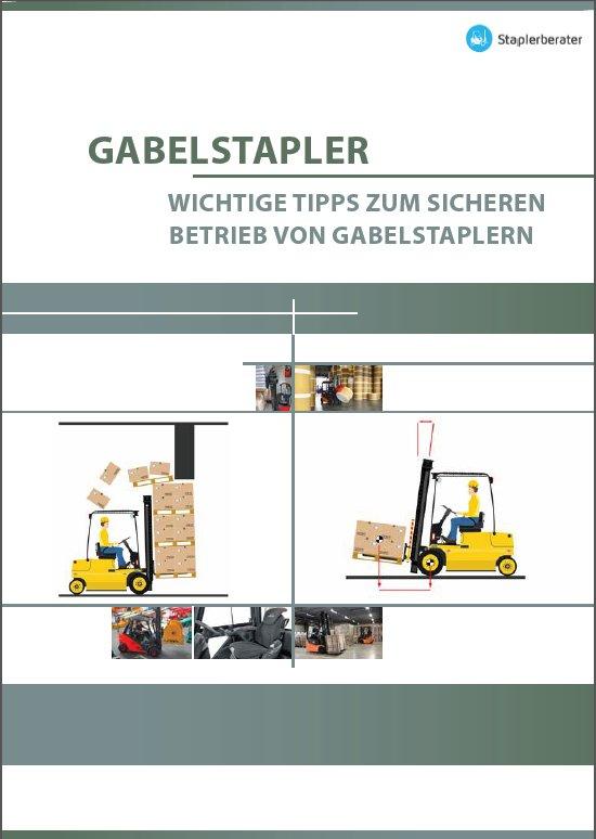 Cover Kurzbroschüre Stapler Sicherheit