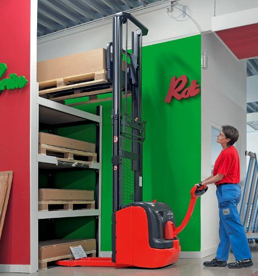 Elektro Hochhubwagen © Linde Material Handling