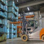 Stapler im Maschinen und Anlagenbau