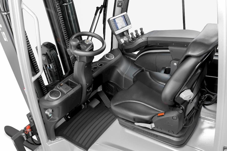 Fahrerkabine Elektrofrontstapler © STILL