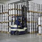 Stapler in der Getränkeindustrie