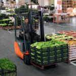 Gabelstapler in der Lebensmittelbranche © Toyota