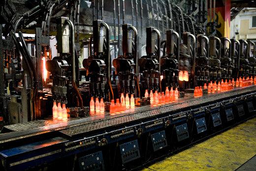 Glasherstellung © Bundesverband Glasindustrie e.V.