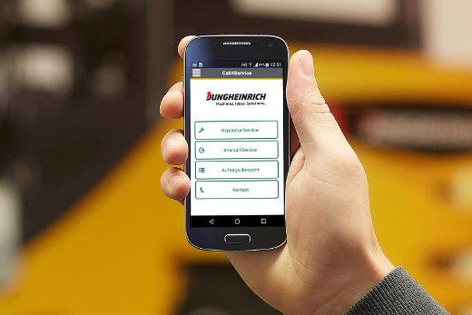 Call4service App © Jungheinrich