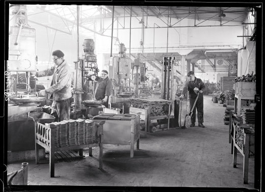 Jungheinrich Historie - Die ersten Mitarbeiter