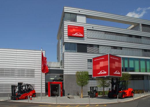 Firmenzentrale Deutschland Linde Material Handling