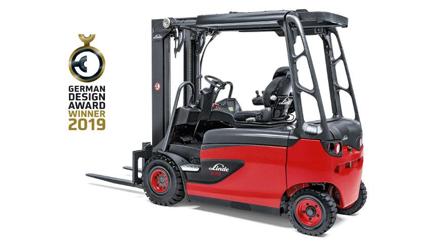 Winner in der Kategorie Nutzfahrzeuge © Linde Material Handling