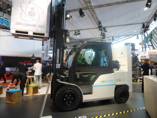 Logimat 2017: UniCarriers Stand
