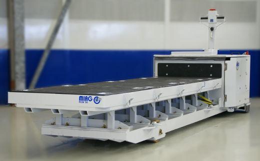 MIAG Elektro-Geh-Plattformwagen © MIAG