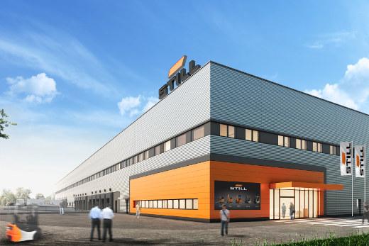 Neues STILL Logistikzentrum © STILL