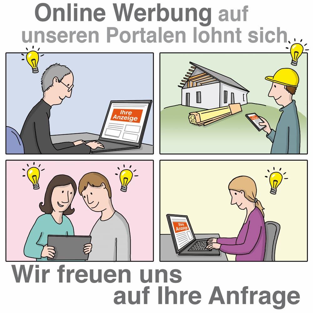 Online Werbung auf unserem Portal kann sich lohnen