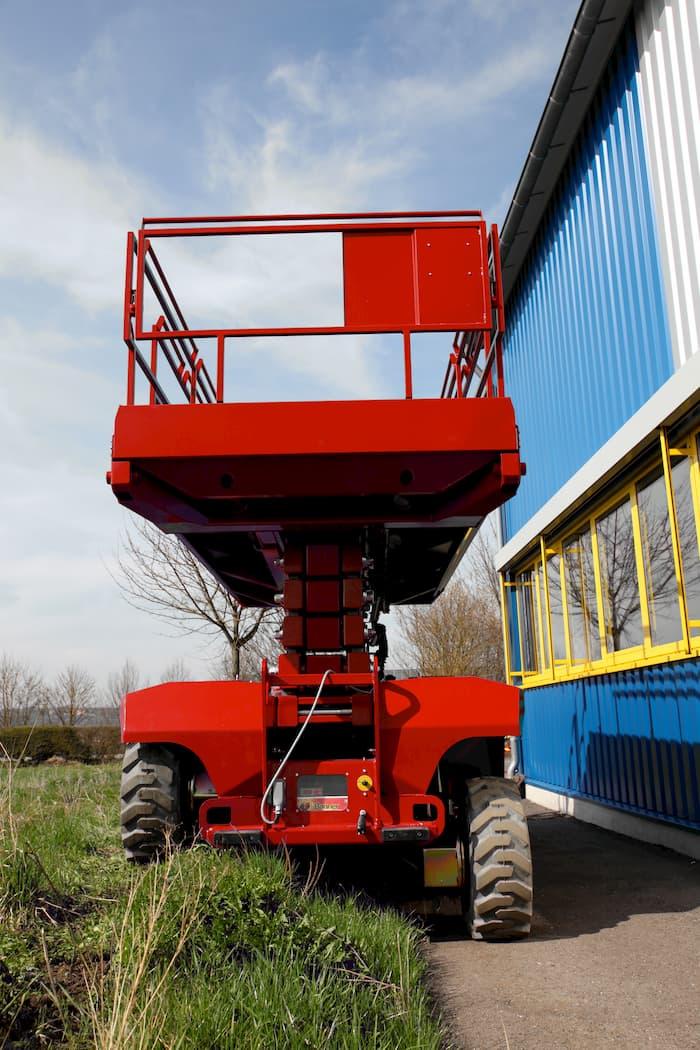 Scherenarbeitsbühne © PB-Lifttechnik