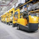 Jungheinrich: Neue Schlepper-Baureihe geht an den Start