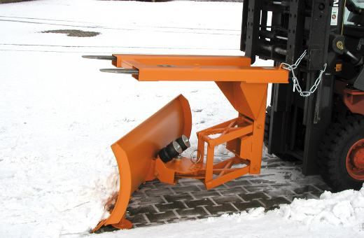 Schneeschild Anbaugerät