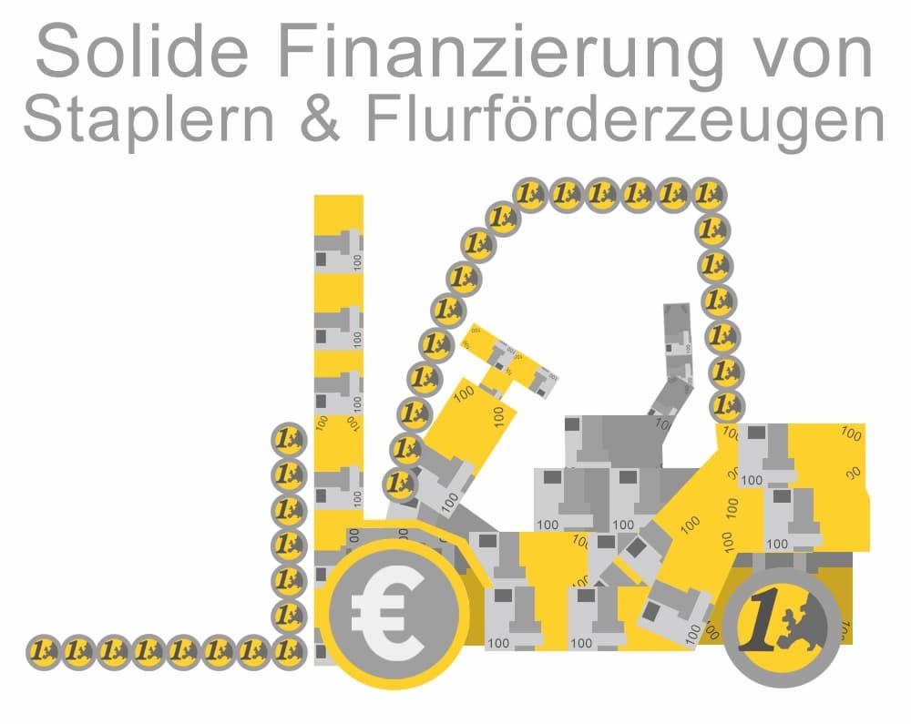 Solide Finanzierung von Staplern und Flurförderzeugen