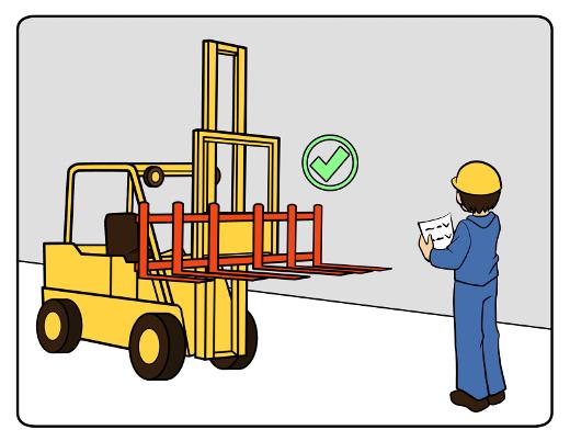 Anbaugeräte Stapler Sicherheit