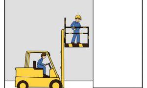 Stapler und Arbeitsbühnen