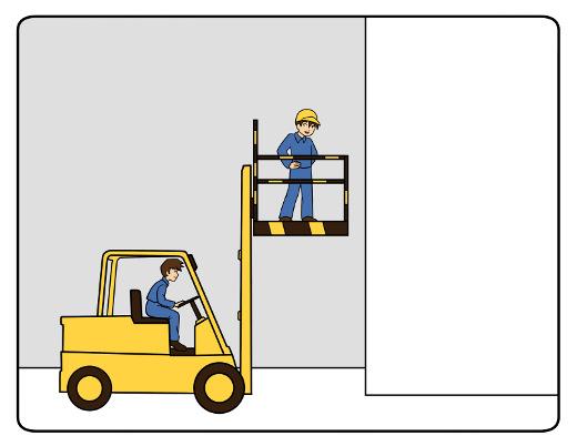 Stapler Arbeitsbühne