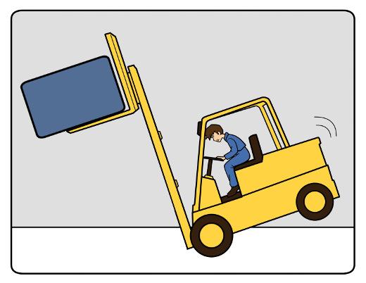 Lasten sicher mit dem Stapler transportieren