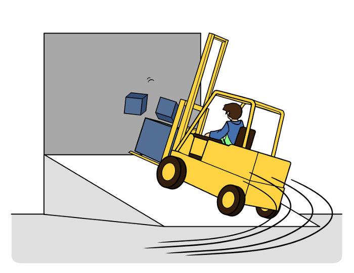Keine Kurven auf Rampen fahren