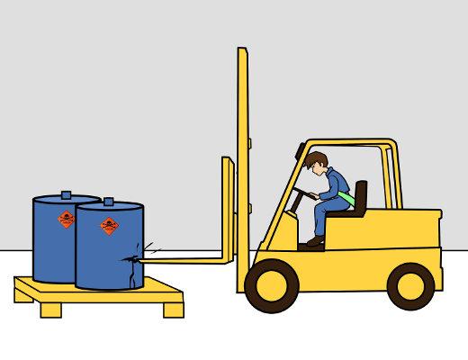 Höchste Konzentration bei der Lastaufnahme