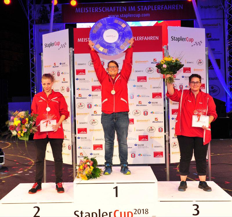 Staplercup 2018: So sehen Siegerinnen aus