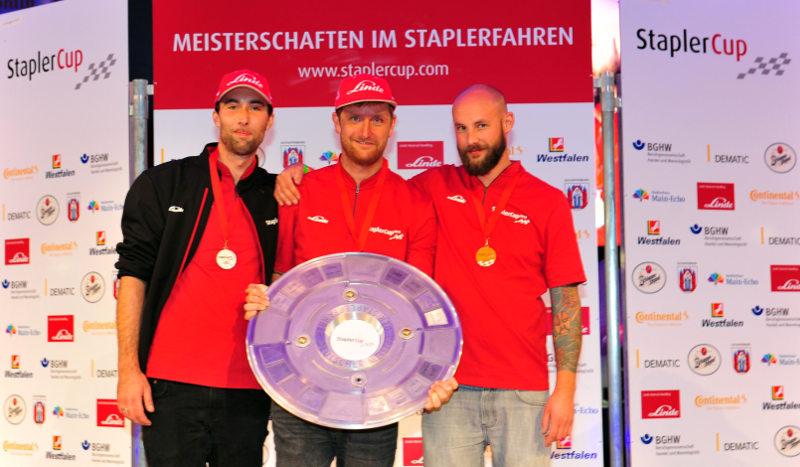 Staplercup 2018: So sehen Sieger aus