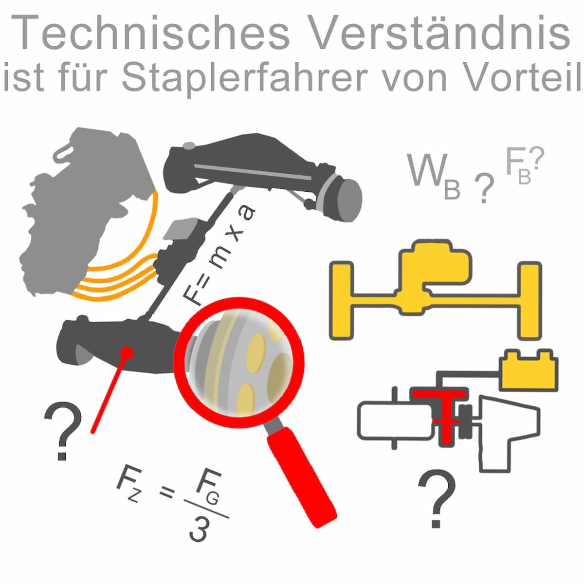 Technisches Verständnis ist für Staplerfahrer vorteilhaft