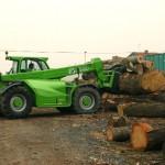 Stapler in der Holzindustrie