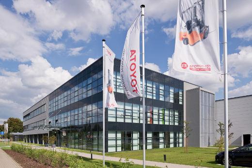 Firmensitz Toyota Material Handling Deutschland GmbH