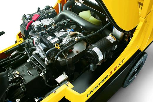 Treibgasstapler motor © Hyster