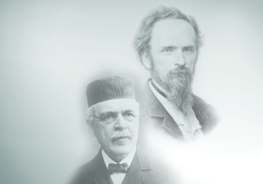 Yale Historie - Die beiden Gründer Linus Yale und Henry Towne